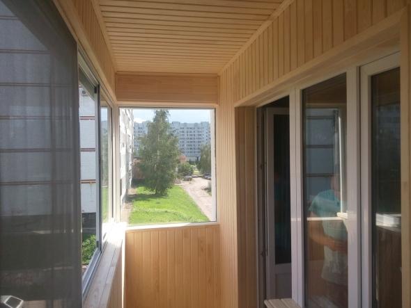 Фото обшивки балконов
