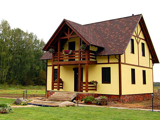 дом из гипсоблоков